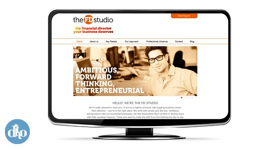 The FD Studio website 2